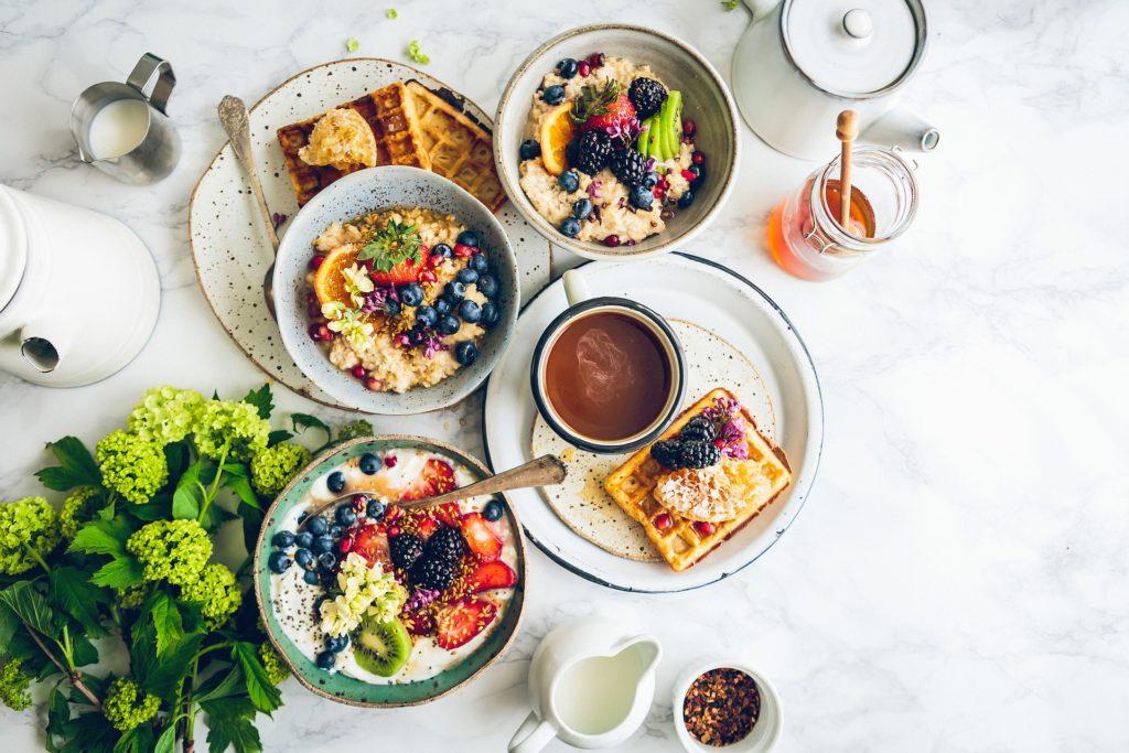 5 basisingrediënten voor een goed ontbijt in 5 minuten